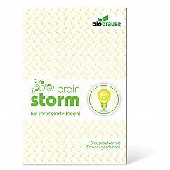 liebeskummerpillen Bio-Brause Brain Storm - Brausepulver mit Zitronengeschmack in netter Verpackung.