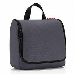 Kulturbeutel mit Haken - toiletbag in graphit grau von reisenthel - Beautycase